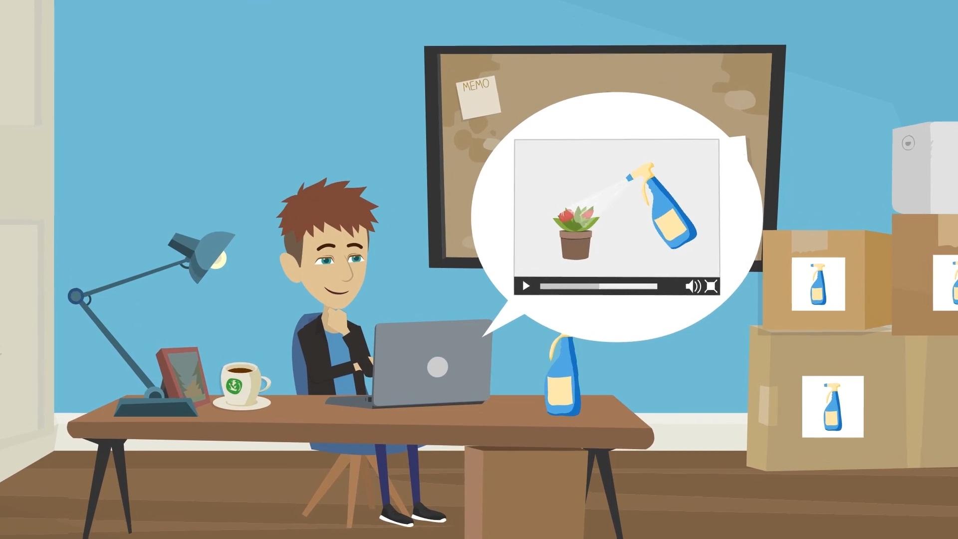 2D Cartoon animatievideo - EVA Explainer Video Agency