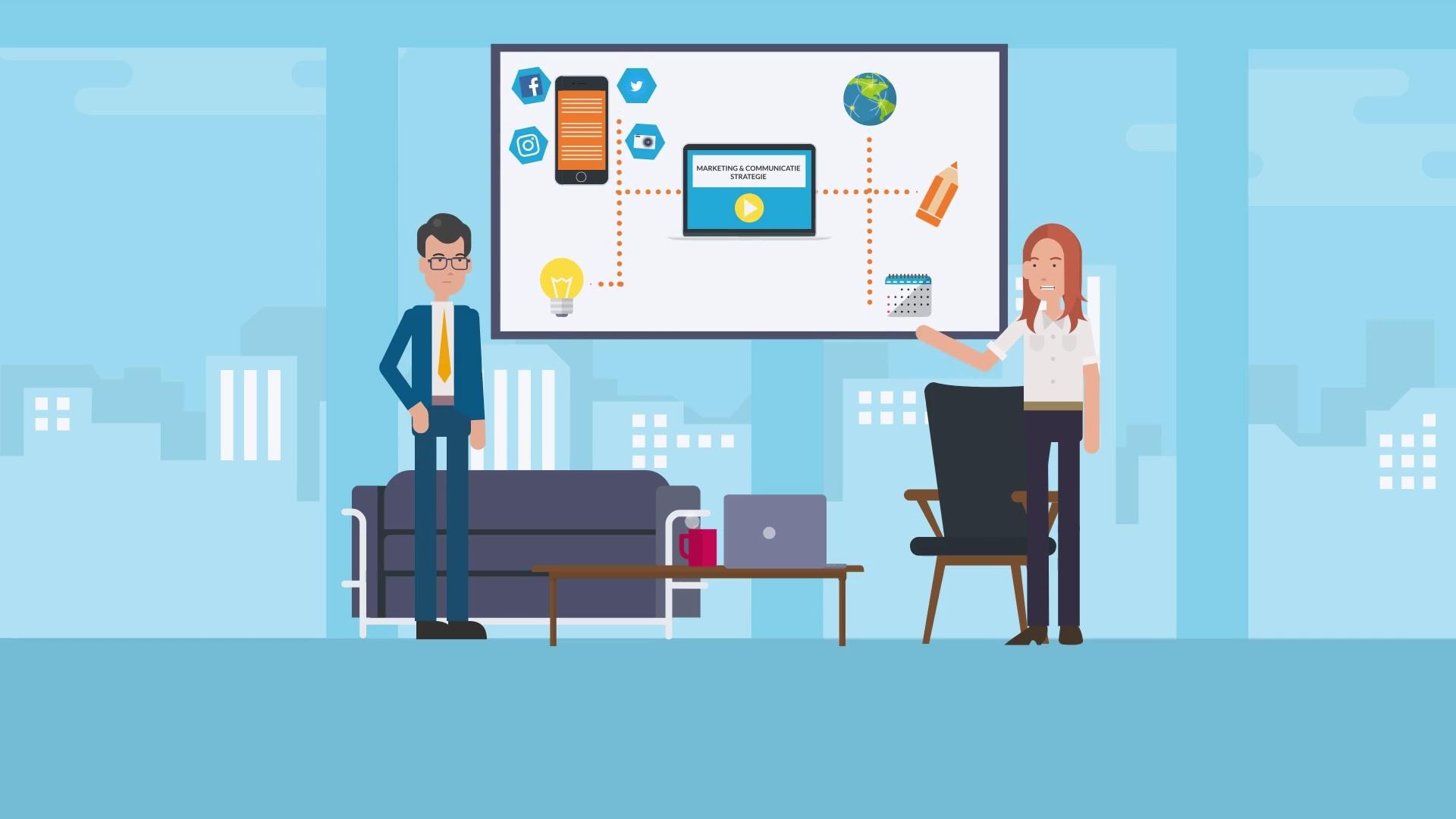 Business animatievideo - EVA Explainer Video Agency