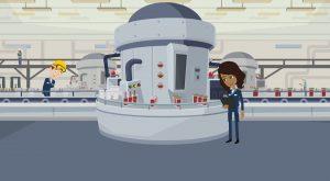 2D Cartoon animatievideo 360 Fabriek - EVA Explainer Video Agency