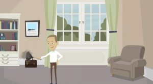 2D Cartoon animatievideo Breedweer Facilitaire Diensten - EVA Explainer Video Agency