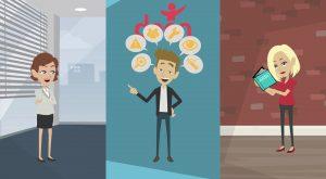 2D Cartoon animatievideo DOEN 2 - EVA Explainer Video Agency