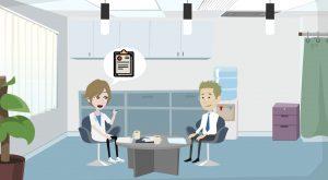 2D Cartoon animatievideo HELD 3 - EVA Explainer Video Agency