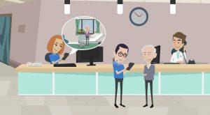 2D Cartoon animatievideo Hubb - EVA Explainer Video Agency