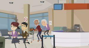 2D Cartoon animatievideo Nedkom - EVA Explainer Video Agency