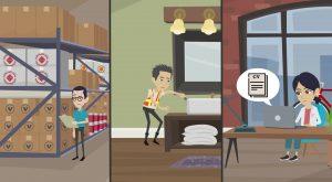 2D Cartoon animatievideo Verder in Techniek - EVA Explainer Video Agency