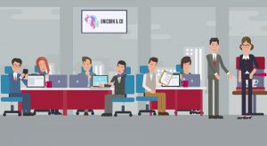 Business animatievideo Young Global People - EVA Explainer Video Agency