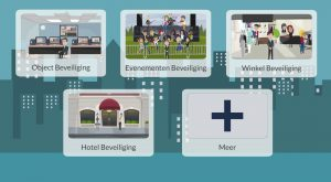 Interactieve animatievideo Dutch Crowd Security - EVA Explainer Video Agency