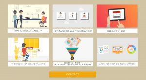 Interactieve animatievideo Riskchanger - EVA Explainer Video Agency