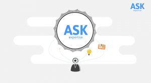 Motion Graphics animatievideo Ask Expertise 2 - EVA Explainer Video Agency
