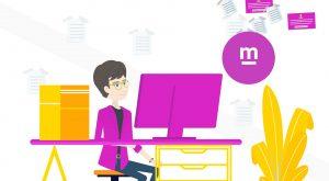 Motion Graphics animatievideo Please ask m 2 - EVA Explainer Video Agency