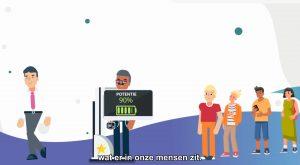 Motion Graphics animatievideo Prof Trainingen - EVA Explainer Video Agency