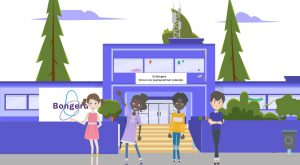Motion Graphics animatievideo de Bongerd onderwijs en educatie - EVA Explainer Video Agency
